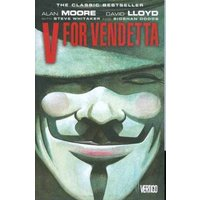 V for Vendetta by Alan Moore Paperback Used cover