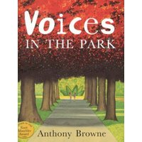 Voices in the Park by Anthony Browne Paperback Used cover