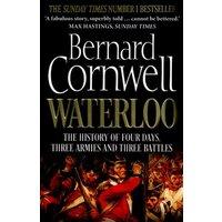 Waterloo by Bernard Cornwell Paperback Used cover