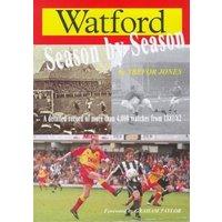 Watford Season by Season by Trefor Jones Book Used cover