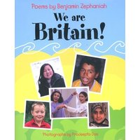 We Are Britain by Benjamin Zephaniah Paperback Used cover