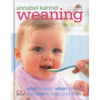 Weaning by Annabel Karmel Hardback Used cover
