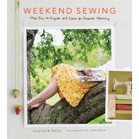 Weekend Sewing by Heather Ross Hardback Used cover