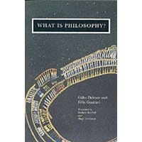 What Is Philosophy? by Gilles Deleuze Paperback Used cover