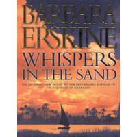 Whispers in the Sand by Barbara Erskine Hardback Used cover