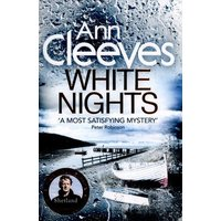 White Nights by Ann Cleeves Paperback Used cover