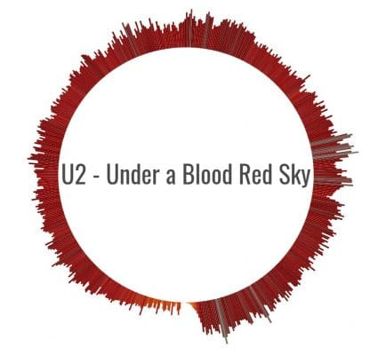 Under a Blood Red Sky by U2