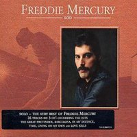 Freddie Mercury Solo Used CD at Music Magpie Image