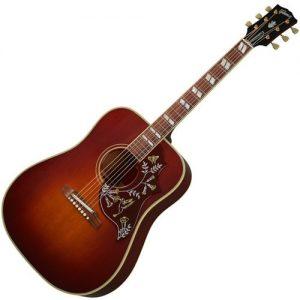 Gibson 1960 Hummingbird Heritage Cherry Sunburst w/ Adj Saddle at Gear 4 Music Image