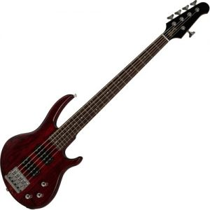 Gibson EB Bass 5 String Wine Red Satin at Gear 4 Music Image