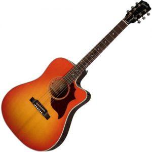Gibson Hummingbird AG Mahogany Light Cherry Sunburst at Gear 4 Music Image