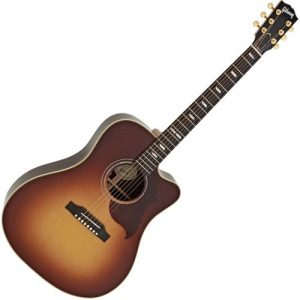 Gibson Hummingbird M Rosewood Burst at Gear 4 Music Image