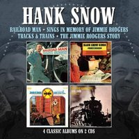 Hank Snow Railroad Man/sings in Memory of Jimmie Rodgers/tracks & at Music Magpie Image