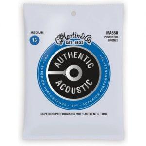 Martin Authentic Acoustic SP Phosphor Bronze 3 Pack Medium 13-56 at Gear 4 Music Image