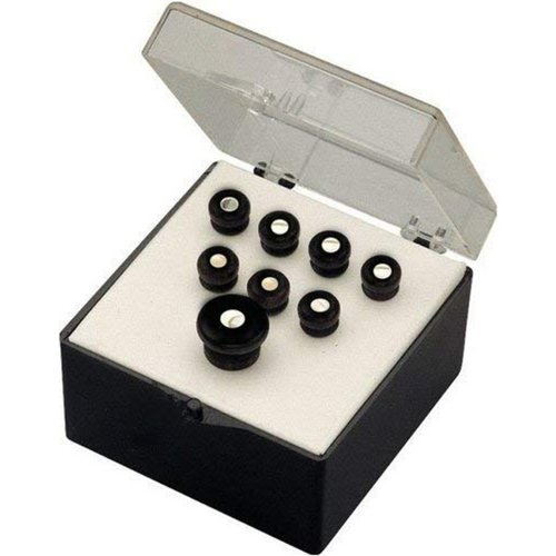 Martin Bridge Pins Set of 8 Black w/ Pearl Inlay at Gear 4 Music Image