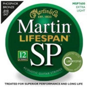Martin Lifespan Phosphor Bronze Ex-Light Strings 12-String 010-047 at Gear 4 Music Image