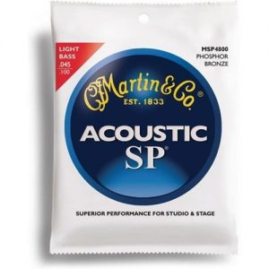 Martin MSP4800 Light Acoustic Bass Strings 45-100 at Gear 4 Music Image