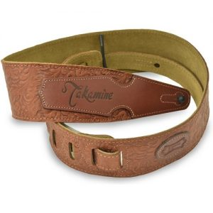 Takamine Guitar Strap Tooled Leather at Gear 4 Music Image