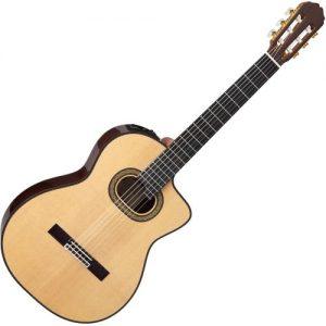 Takamine TH90 Hirade Electro Classical Guitar Natural at Gear 4 Music Image