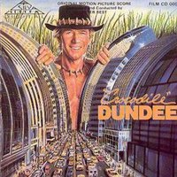 Various Crocodile Dundee Original Motion Picture Score Used CD at Music Magpie Image