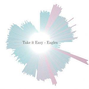 the eagles take it easy soundwave art