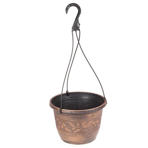 Acorn Hanging Basket 25cm (10in) Copper-Tone YouGarden