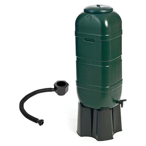 100L Slimline Garden Water Butt Set Including Tap and Stand YouGarden