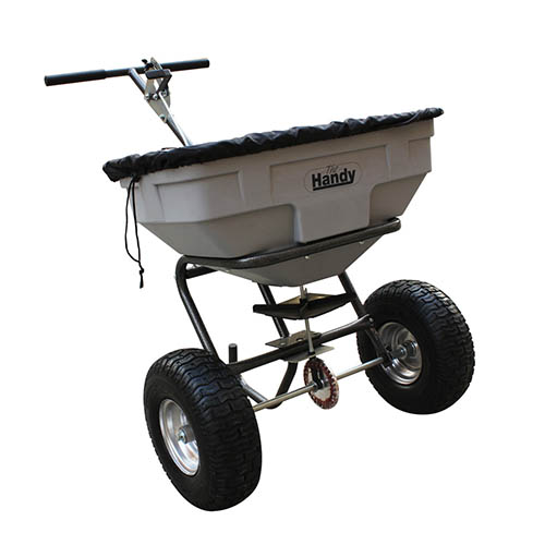 The Handy 57kg (125lbs) Push Broadcast Spreader YouGarden