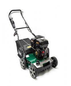 """40cm (16"""") Petrol Lawn Scarifier/45L Collector"""