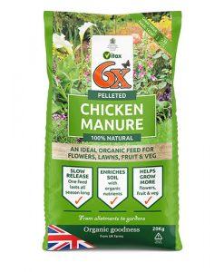 6X Pelleted Chicken Manure 20kg bag