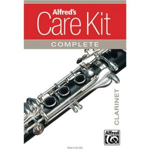 Alfreds Complete Clarinet Care Kit at Gear 4 Music Image
