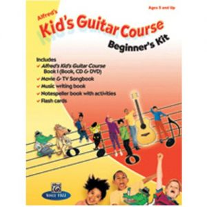 Alfreds Kids Guitar Course Beginners Kit at Gear 4 Music Image