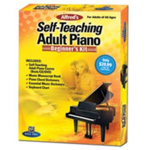 Alfreds Self-Teaching Adult Piano: Beginners Kit at Gear 4 Music Image