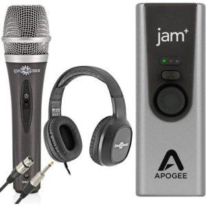 Apogee Jam+ Vocal Recording Bundle at Gear 4 Music Image