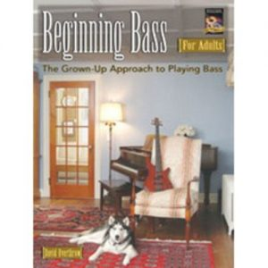 Beginning Bass for Adults (Book + CD) at Gear 4 Music Image