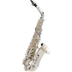 Buffet SenzoAlto Saxophone Silver Plated Copper Body & Brass Keys at Gear 4 Music Image
