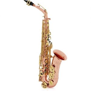 Buffet Senzo Alto Saxophone with Copper Body & Brass Keys at Gear 4 Music Image