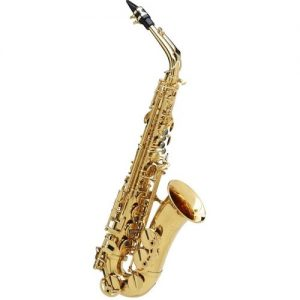 Buffet Senzo Alto Saxophone with Yellow Brass Body & Brass Keys at Gear 4 Music Image