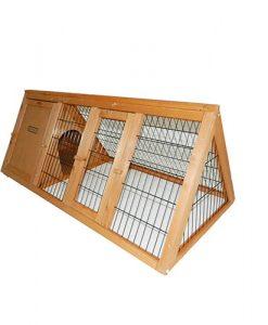 Charles Bentley Frame Wooden Outdoor Portable Rabbit Hutch Guinea Pig Ferret Run