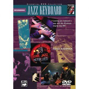 Complete Jazz Keyboard Method: Beginning Jazz Keyboard (Book + DVD) at Gear 4 Music Image