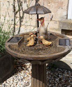 Duck Family Fountain 1170020RL