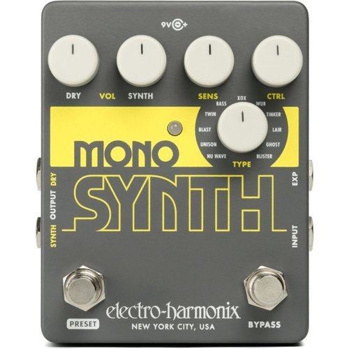 Electro Harmonix Mono Synth Guitar Synthesizer at Gear 4 Music Image