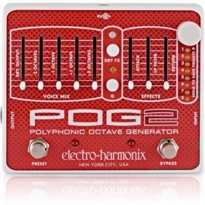 Electro Harmonix POG 2 Polyphonic Octave Generator at Gear 4 Music Image