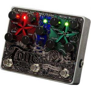 Electro Harmonix Tone Tattoo Analog Multi Effects Pedal at Gear 4 Music Image