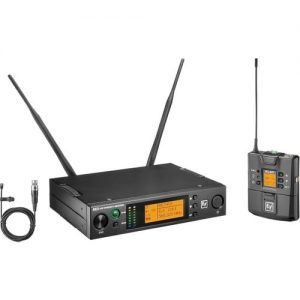 Electro-Voice RE3-BPOL Single Omni Lavalier Wireless Mic Set Band 8M at Gear 4 Music Image
