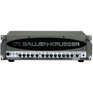 Gallien Krueger 2001 RB-II Bass Amp Head at Gear 4 Music Image