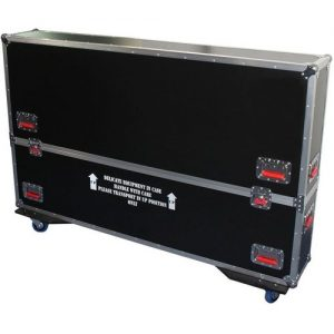 Gator G-TOURLCDV2-6065-X2 Double ATA LCD Case 60-65 at Gear 4 Music Image