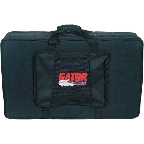 Gator GDJ-DJ1 Case for Two DJ CD PGalayers and Mixer at Gear 4 Music Image