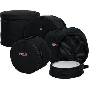 Gator GP-FUSION16 Nylon Bag 5 Pack Set For Fusion Style Drum Kits at Gear 4 Music Image