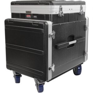 Gator GRC-12X10 PU Moulded Pop-Up Rack Case 12U Top 10U Side at Gear 4 Music Image